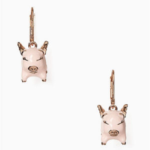 KATE SPADE 'imagination Pig Drop Earrings
